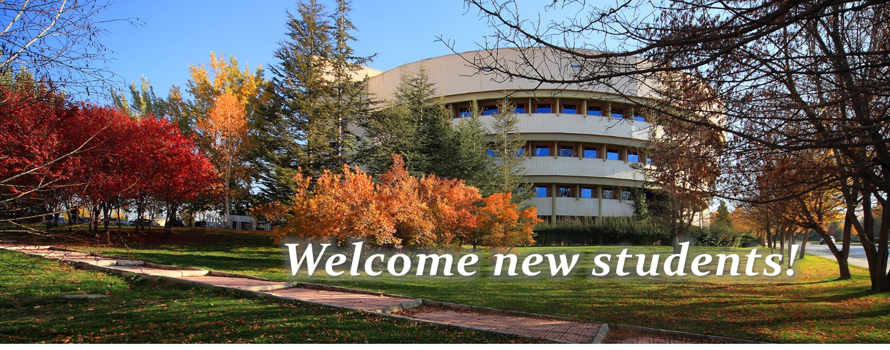 Welcome new students !